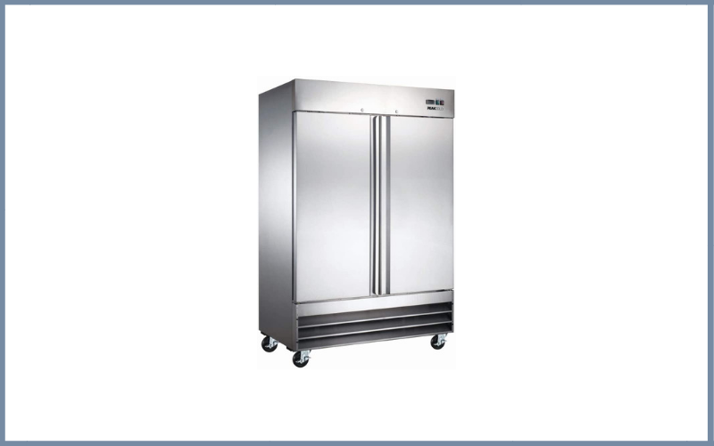 Peak Cold 2 Door Commercial Reach In Stainless Steel Refrigerator Review