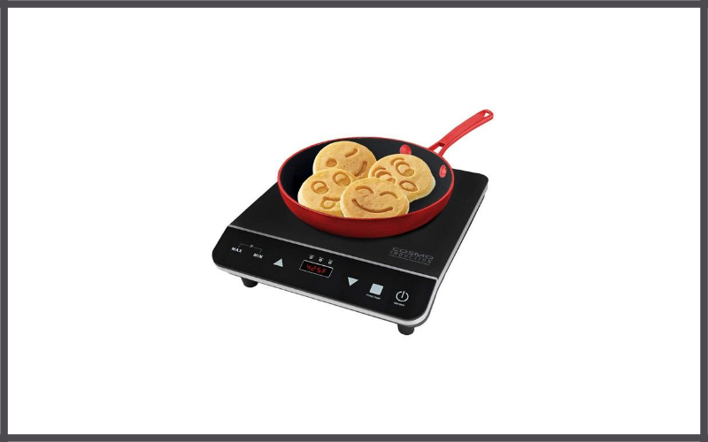 Portable Electric Induction Cooktop with Rapid Heating by Cosmo Review