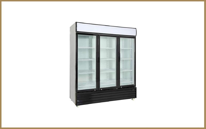 Procool Commercial Glass 3-Door Merchandiser Upright Reach-in Beverage Cooler Display Refrigerator Review