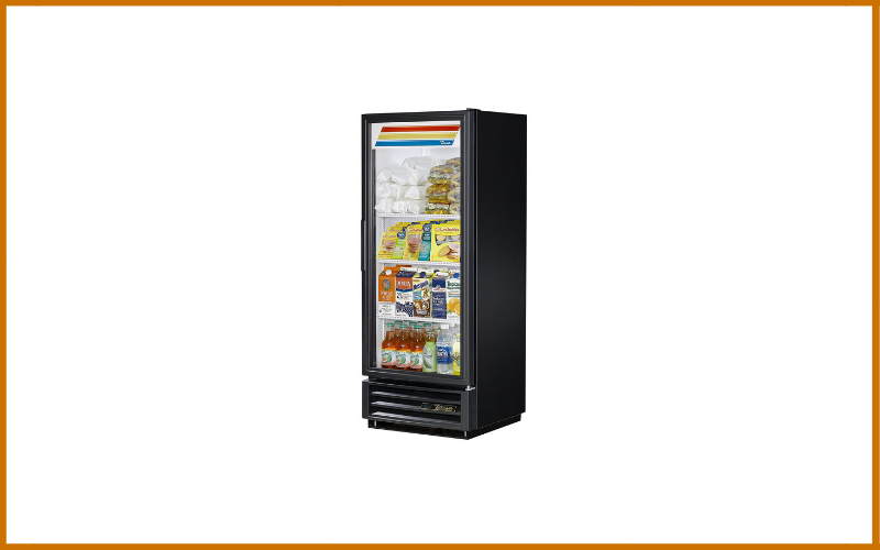 True GDM-12-HC-LD Single Swing Glass Door Merchandiser Refrigerator with Hydrocarbon Refrigerant and LED Lighting Review