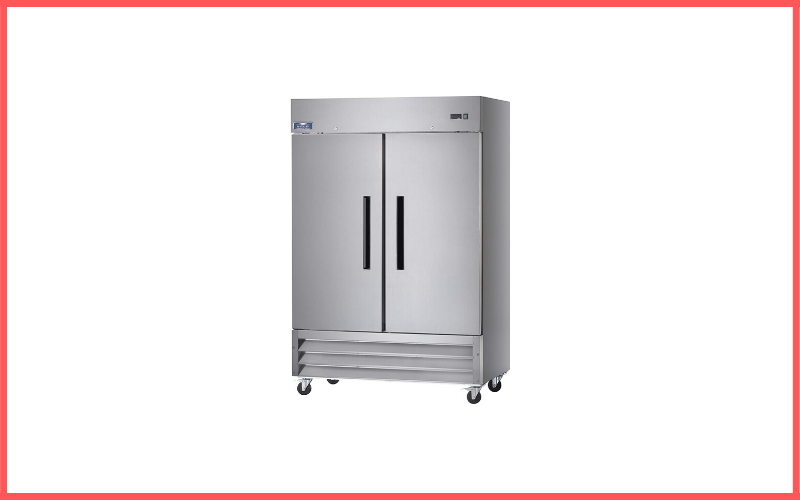 Arctic Air AF49 Two Section Reach-in Commercial Freezer Review