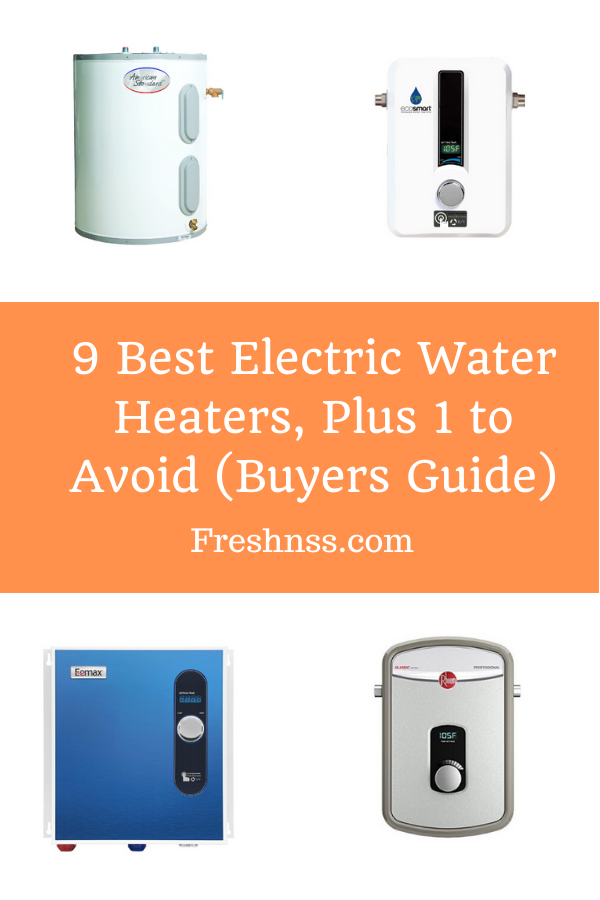 Best Electric Water Heater Reviews