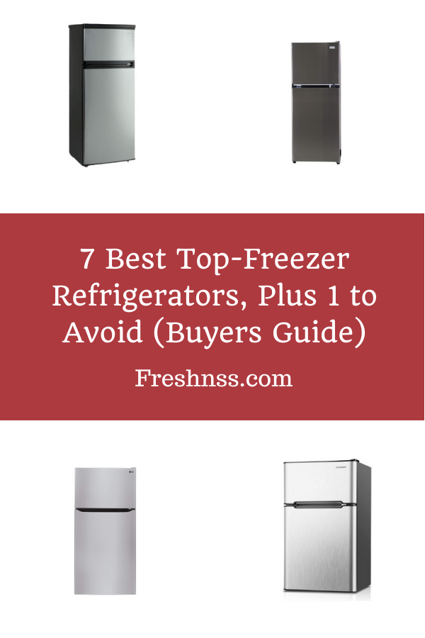 Best Top Freezer Refrigerator Reviews