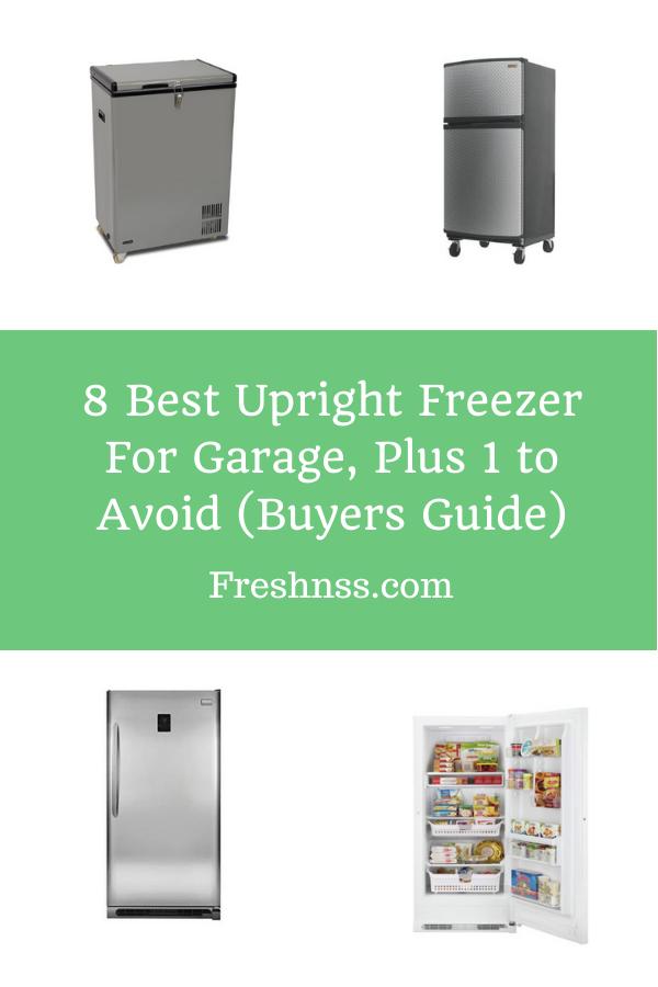Best Upright Freezer for Garage Reviews