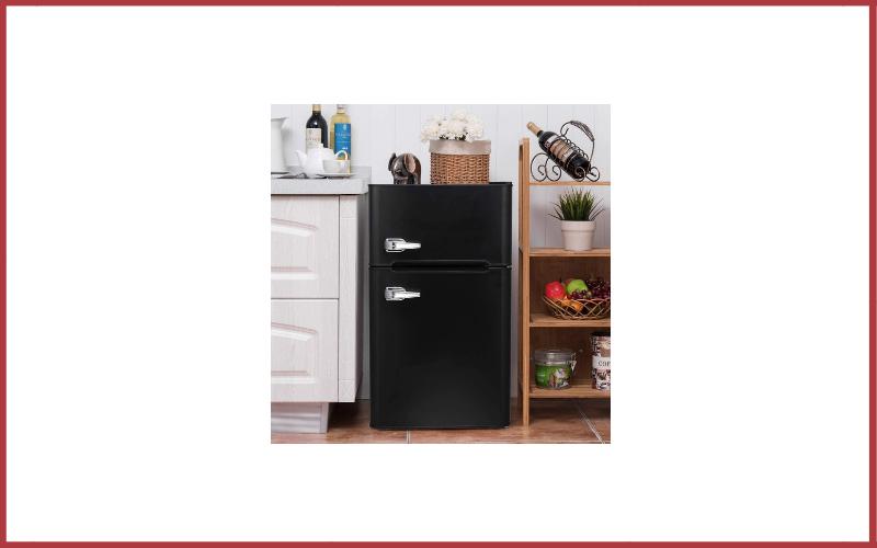 Bossin 3.2 Cu Ft Compact Refrigerator 2 Door MIni Fridge Chiller and Freezer Review