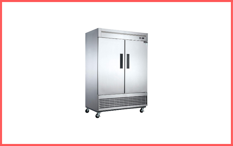 Dukers D55F 40.7 Cu Ft 2-Door Commercial Freezer Review