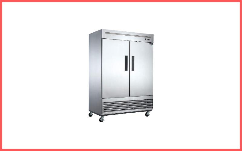 Dukers D55F 40.7 Cu Ft 2-Door Commercial Freezer Review