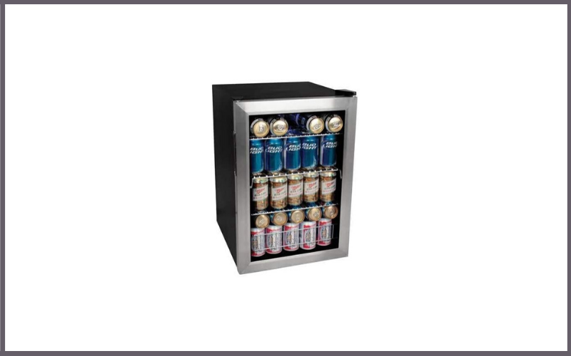 EdgeStar BWC90SS 84 Soda Can Beverage Cooler Stainless Steel Review