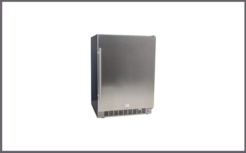 EdgeStar CBR1501SLD 5.49 Cu Ft EdgeStar 142 Can Built-in Stainless Steel Beverage Cooler Review