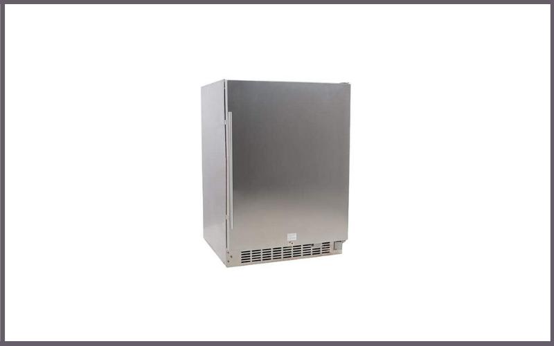 EdgeStar CBR1501SSOD 24 Inch Wide 142 Can Built-In Outdoor Beverage Cooler Review