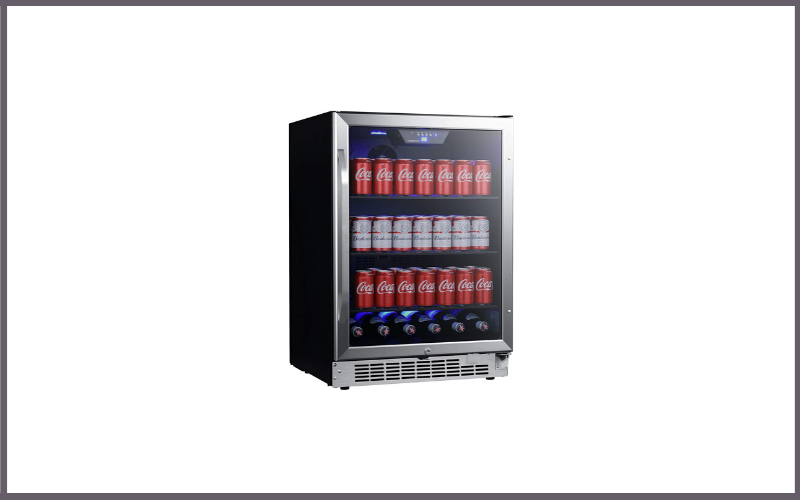 EdgeStar CBR1502SG 24 Inch Wide 142 Can Built-In Beverage Cooler with Tinted Door Review