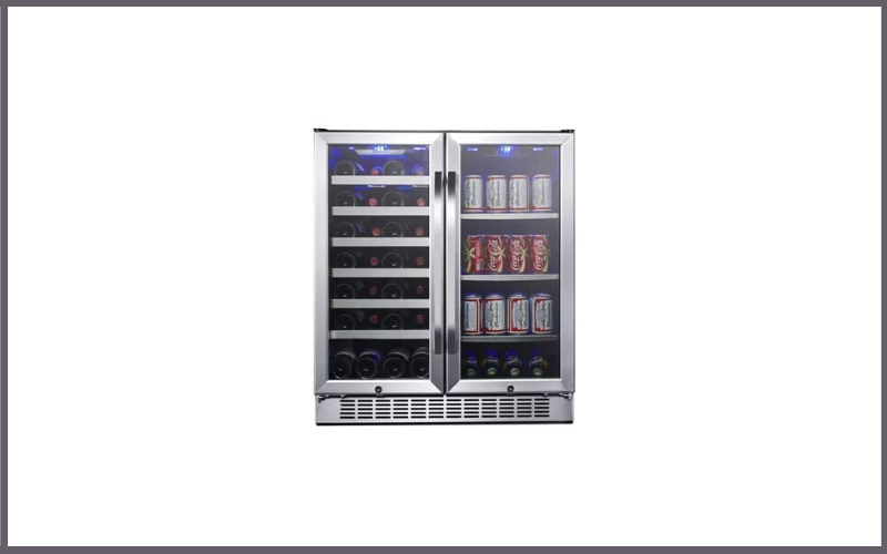EdgeStar CWB2886FD 30-Inch Built-In Wine and Beverage Cooler with French Doors Review