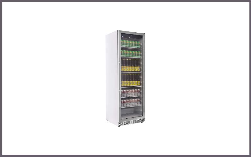 EdgeStar VBR640 14 Cu Ft Built-In Commercial Beverage Merchandiser White and Stainless Steel Review