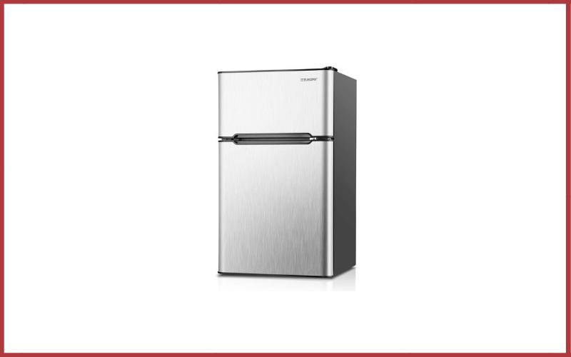 Euhomy Mini Fridge with Freezer Review