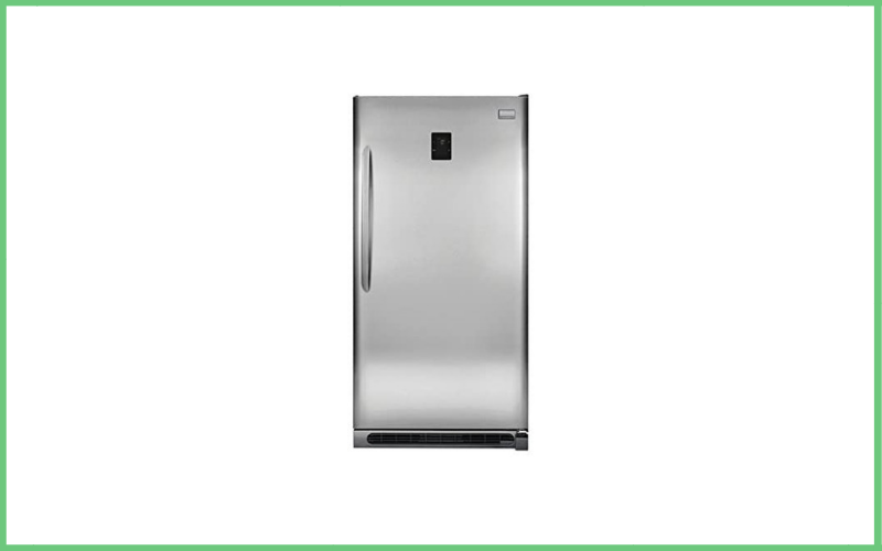 Frigidaire FGVU21F8QF Energy Star Rated Upright Convertible Freezer with Bright LED Theatre Lighting Review