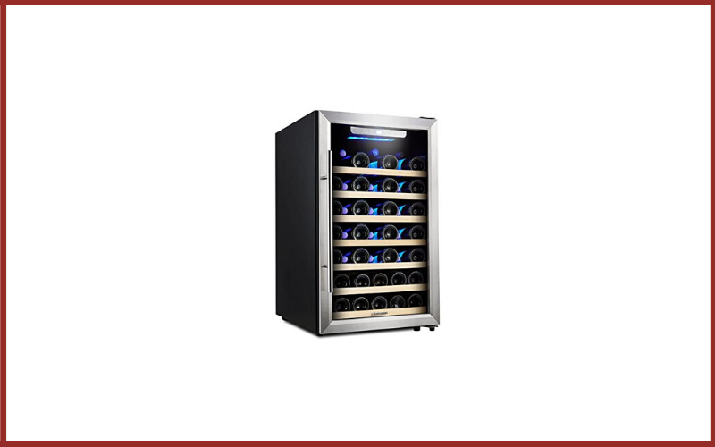 Kalamera 50 Bottle Compressor Wine Refrigerator Single Zone with Touch Control Review