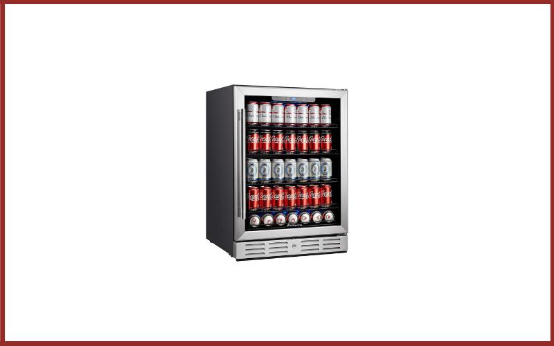 "Kalamera KRC-150BV 24"" Beverage Refrigerator 175 Cans Capacity Beverage Cooler Review"