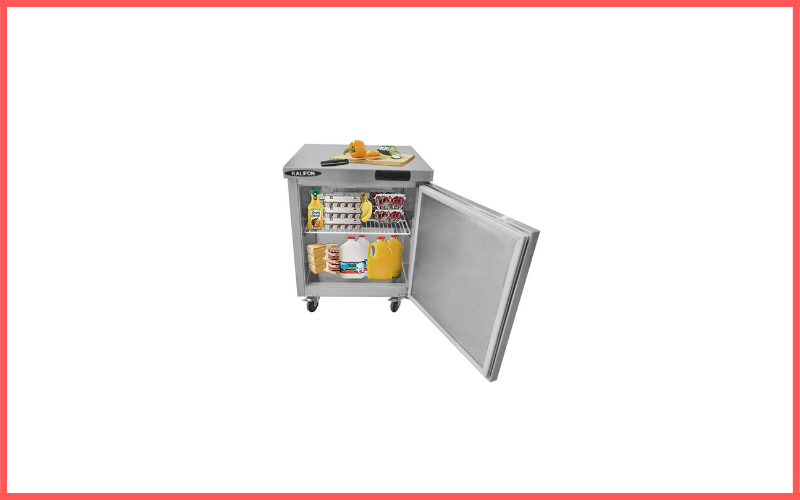 Kalifon Commercial Undercounter Freezer 7.4 Cu Ft Stainless Steel Review