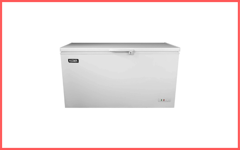 Kitma Commercial Top Chest Freezer 9.6 Cu Ft Deep Ice Cream Freezer with Adjustable Thermostat Review