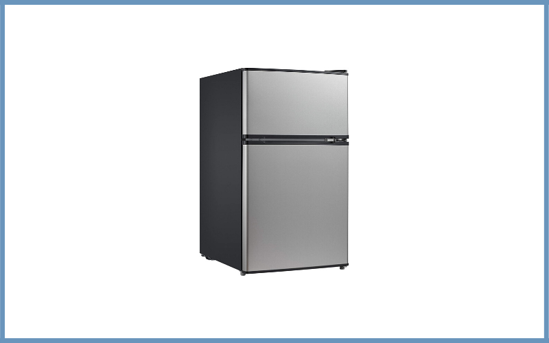 Midea WHD-113FSS1 Compact Refrigerator Freezer Review