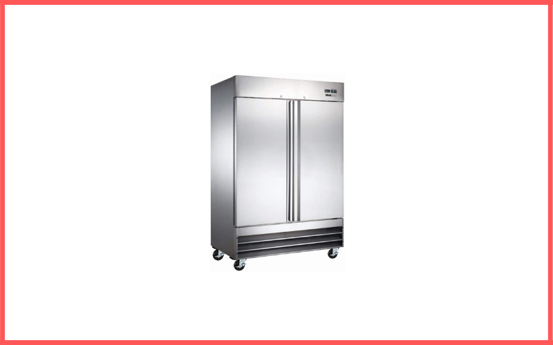 Peak Cold 2 Door Commercial Stainless Steel Freezer Review