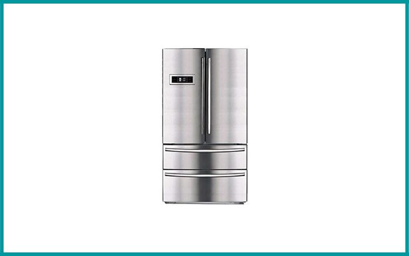 SMETA Counter Depth French Door Refrigerator 36 Inch Bottom Freezer Review