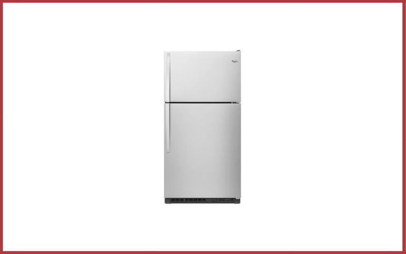 Whirlpool174 33 Inch Wide Top-Freezer Refrigerator with Optional EZ Connect Icemaker Kit Review