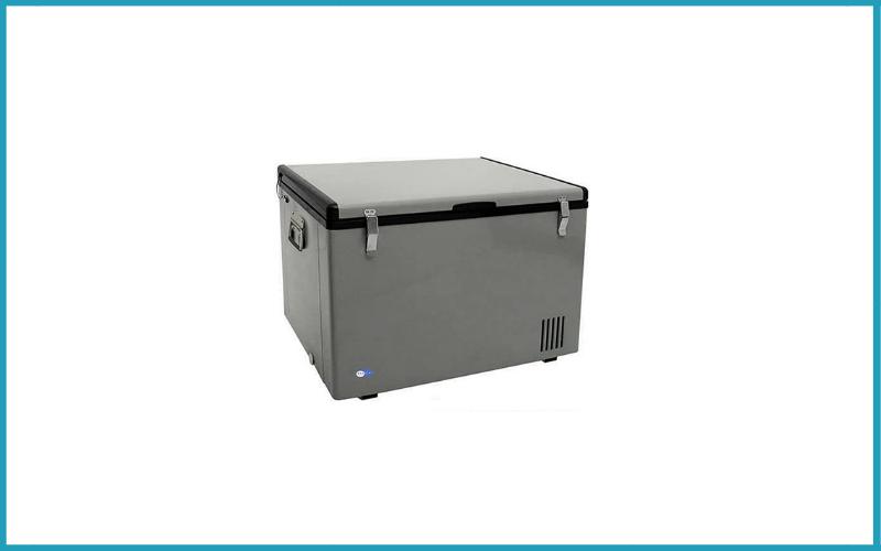 Whynter FM-85G 85 Quart Portable Fridge AC 110V / DC 12V True Freezer Review