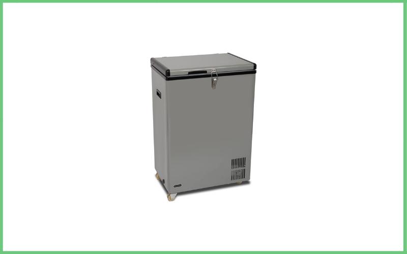Whynter FM-951GW 95 Quart Wheeled Door Alert Option Portable True Freezer Review