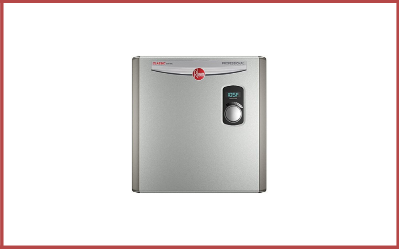 Rheem 240V 3 Heating Chambers RTEX-27 Residential Tankless Water Heater Review