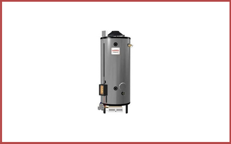 Rheem G100-200 Natural Gas Universal Commercial Water Heater Review