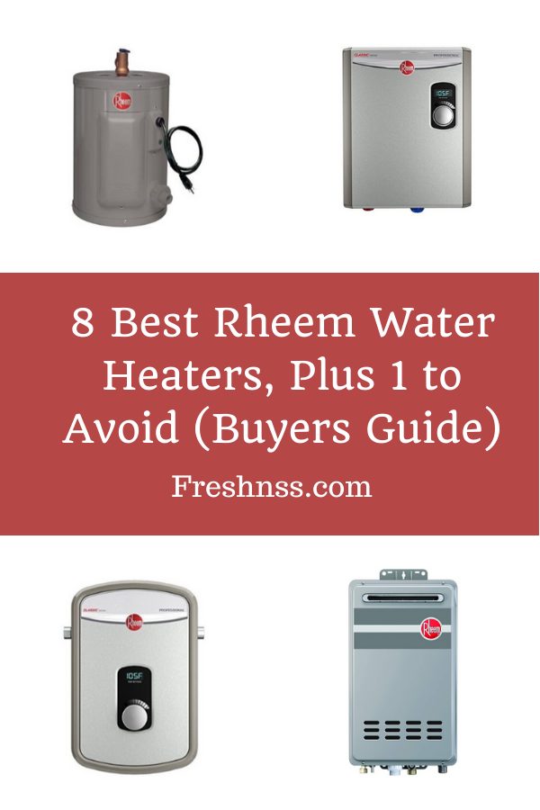 Rheem Water Heater Reviews