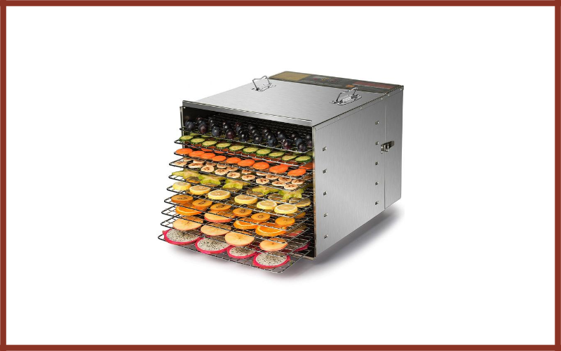 CO-Z Commercial Grade Stainless Steel Electric Food Dehydrator Review