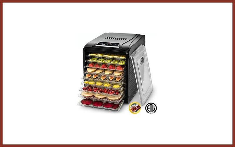 Gourmia GFD1950 Digital Food Dehydrator Review