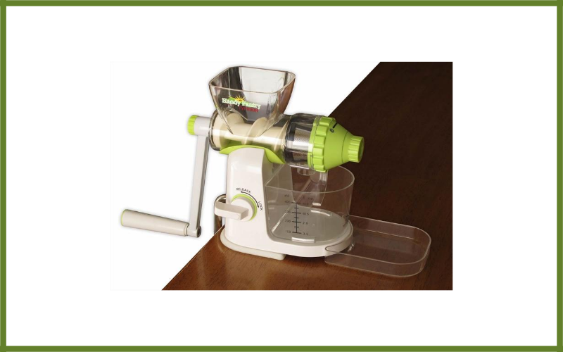Typhoon Manual Wheatgrass Juicer Review