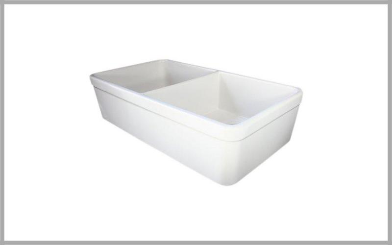 "Alfi Brand Ab512 Double Bowl Fireclay 32"" Farmhouse Apron Kitchen Sink Review"
