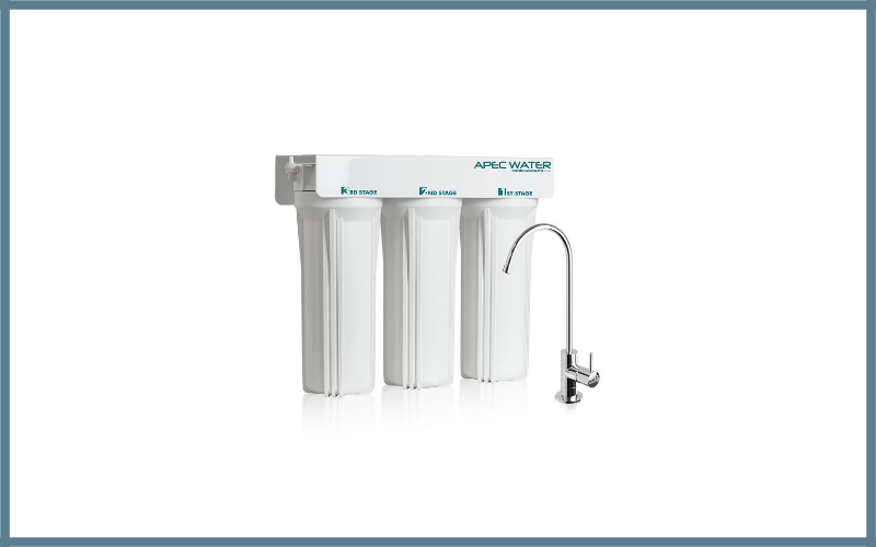 Apec Wfs 1000 Super Capacity Premium Quality 3 Stage Under Sink Water Filter System Review