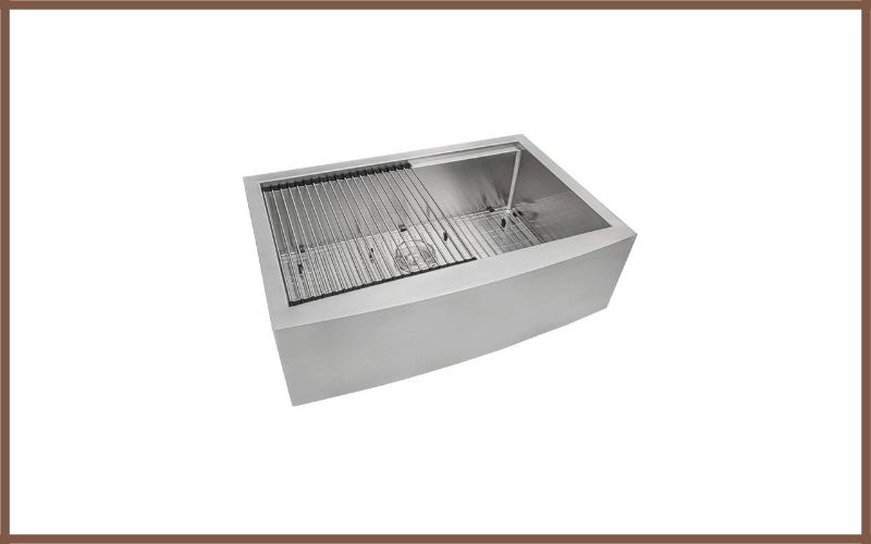 Apron Front 16 Gauge Kitchen Sink Single Bowl By Ruvati Review