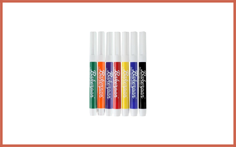 Bakerpan Food Coloring Markers Set Of 7 Review