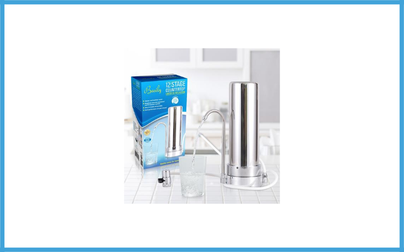 Basily Countertop Water Purifier Basily 12 Stage Purification Process Review