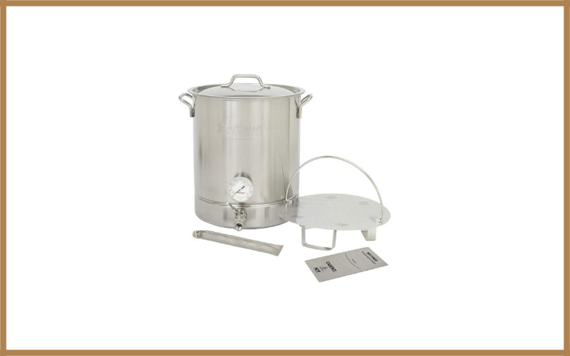 Bayou Classic 800 416 16 Gallon Stainless Steel 6 Piece Brew Kettle Review
