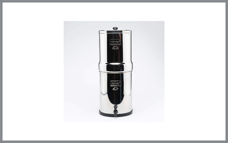 Berkey Rb4x2 Bb Royal Stainless Steel Water Filtration System With 2 Black Filter Elements Review
