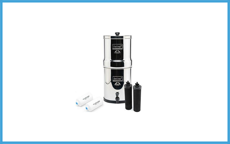 Big Berkey Bk4x2 Countertop Water Filter System Review
