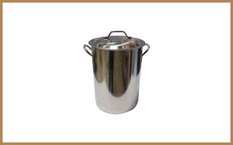 Brewers Best Beer Brewing Boiling Pot Stainless Steel With Lid Review