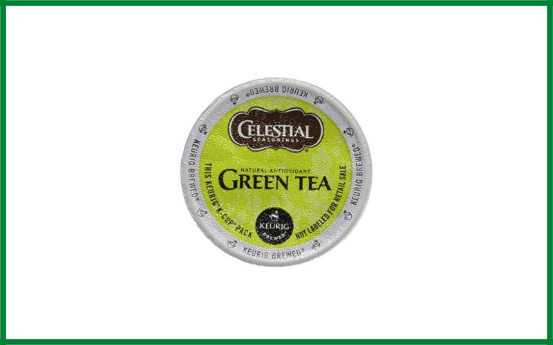 Celestial Seasonings Natural Antioxidant Green Tea K Cup For Keurig Review