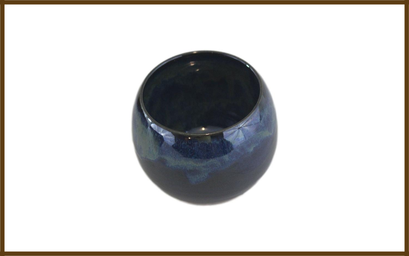 Ceramic Mate Gourd With Side Hole For Mate Straw By Wjc Pottery Review