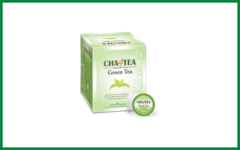 Cha4tea 36 Count Green Tea K Cups For Keurig K Cup Review