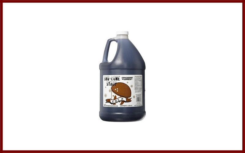 Concession Express Snow Cone Syrup 1 Gallon Review