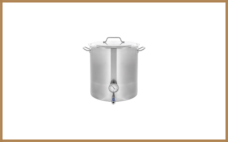 Concord Stainless Steel Home Brew Kettle Stock Pot Review