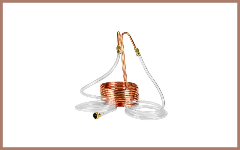 Copperhead Immersion Wort Chiller For Homebrew Beer Brewing By Northern Brewer Review